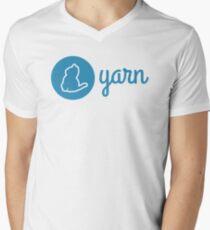 Yarn Men's V-Neck T-Shirt