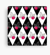 Abstraction.Berry-raspberry.  Canvas Print