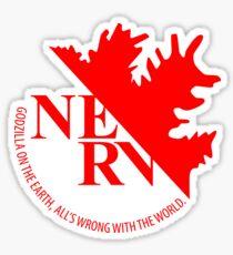 NERV Anti-Godzilla Division Sticker