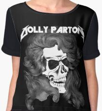 Dolly Parton Metal Women's Chiffon Top