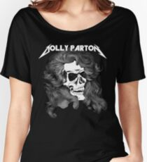 Dolly Parton Metal Women's Relaxed Fit T-Shirt