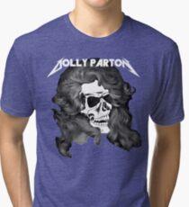 Dolly Parton Metal Tri-blend T-Shirt