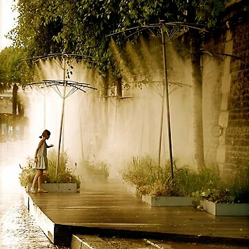 Little Girl at Paris Plages by louisefahy