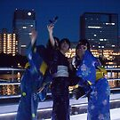 Selfies on the Sumida by Glen O'Malley