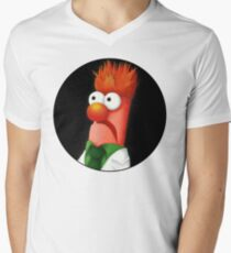 Beaker Men's V-Neck T-Shirt