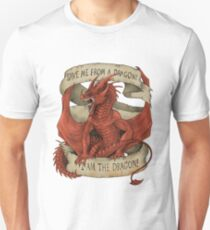 I am the Dragon - Red T-Shirt