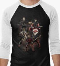Death Metal Killer Music Horror Men's Baseball ¾ T-Shirt