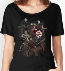 Death Metal Killer Music Horror Women's Relaxed Fit T-Shirt