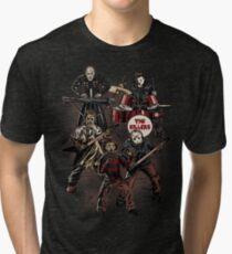 Death Metal Killer Music Horror Tri-blend T-Shirt