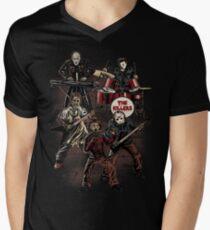 Death Metal Killer Music Horror Men's V-Neck T-Shirt