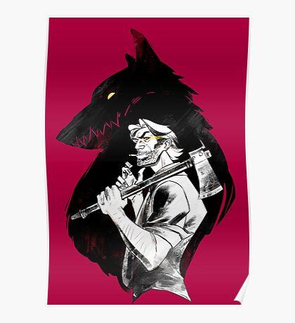 Bib Bad Wolf Poster