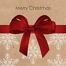 Elegante frohe Weihnachtskarte von RumourHasIt
