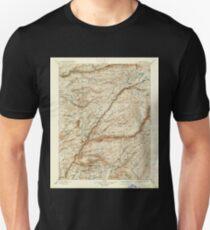 USGS TOPO Map California CA Big Trees 299224 1901 125000 geo Unisex T-Shirt