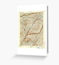 USGS TOPO Map California CA Big Trees 299224 1901 125000 geo Greeting Card