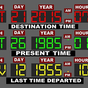 TIME CIRCUITS ON! von MrRed