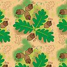 Eicheln & Eichenblätter von shesmile