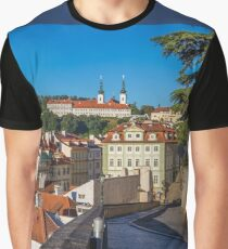 Czech Republic. Prague. Road to Strahov Monastery. Graphic T-Shirt
