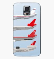 Wings In Uniform - DC-10 - Northwest Airlines - Through The Ages Case/Skin for Samsung Galaxy