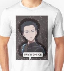 gay!!! on ice T-Shirt