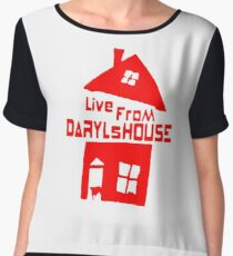 LIVE FROM DARYLS HOUSE Chiffon Top