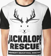 Jackalope Rescue Graphic T-Shirt