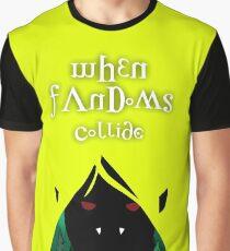 When Fandoms Collide Graphic T-Shirt