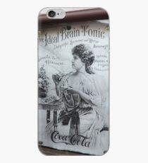 """The Ideal Brain Tonic"" - Vintage Coca-Cola Advertisement iPhone Case"