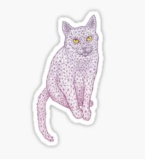 PolyCat Sticker