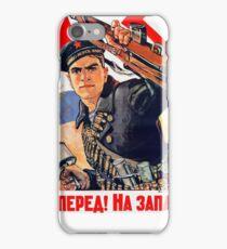 Soviet Navy poster iPhone Case/Skin