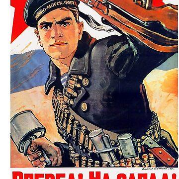 Soviet Navy poster by MrGreed