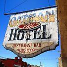 Route 66 - Oatman Hotel by Frank Romeo