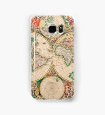 Mercator map Samsung Galaxy Case/Skin