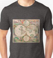 Mercator map Unisex T-Shirt