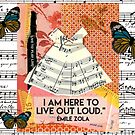 to live out loud ... zola by Virginia Fitzgerald