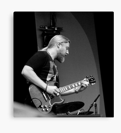 Derek Trucks of the Tedeschi Trucks Band Canvas Print