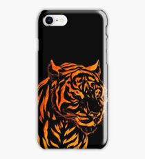 Flame Tiger iPhone Case/Skin