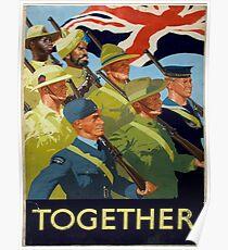 Vintage poster - Together Poster