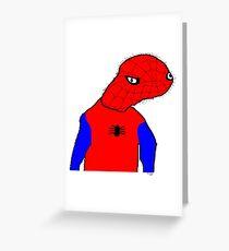 Spooderman  Greeting Card