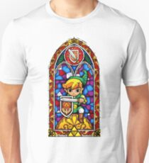 LoZ Shield Stained Glass T-Shirt
