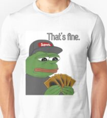 Pepe Yugioh Thats Fine T-Shirt