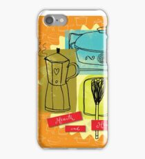 Cozy Kitchen Cafe iPhone Case/Skin