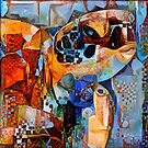 Sea Turtle Abstract Illustration by Anthony Ross