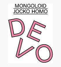 DEVO Photographic Print