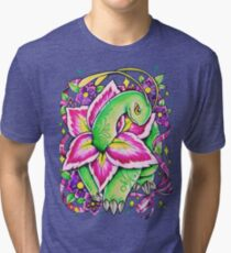 Meganium Tri-blend T-Shirt