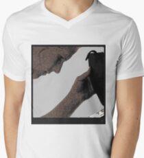 tablet on the beach Men's V-Neck T-Shirt