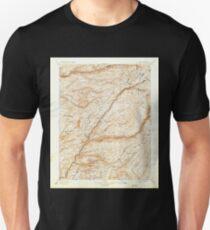 USGS TOPO Map California CA Big Trees 299222 1901 125000 geo Unisex T-Shirt