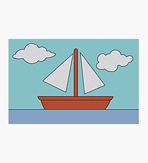 Simpson's Boat Picture Photographic Print