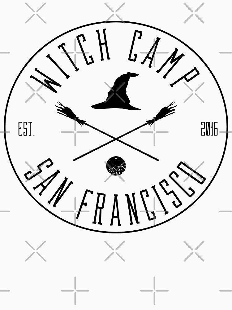 Witch Camp San Francisco (black) by siyi