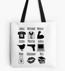 Criminal Minds Team (Minimalist) Tote Bag