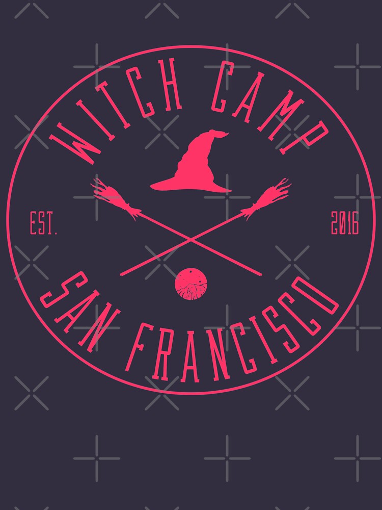 Witch Camp San Francisco (pink) by siyi